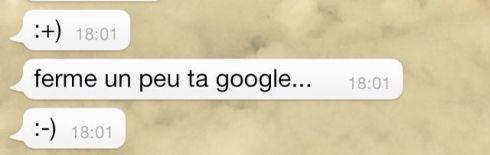 ferme ta google